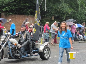 Newport Pagnell Carnival parade