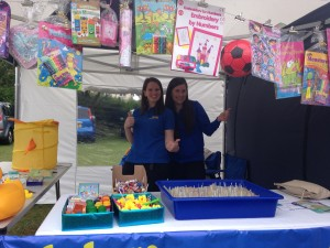 Newport Pagnell Carnival stall