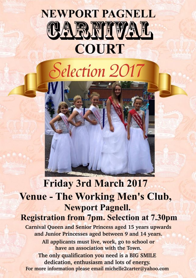 Carnival Court Selection 2017